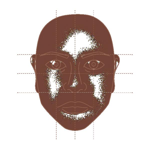 Enneagram Face type Illustration